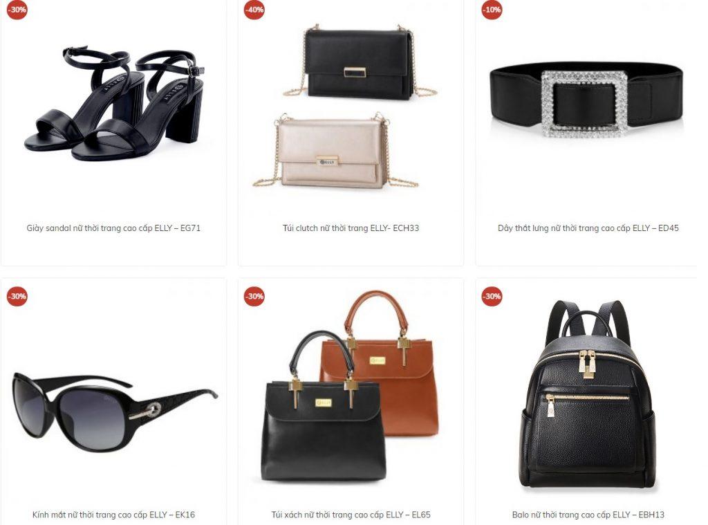 Thương hiệu thời trang Elly - Đánh giá túi xách và giày Elly có tốt không?